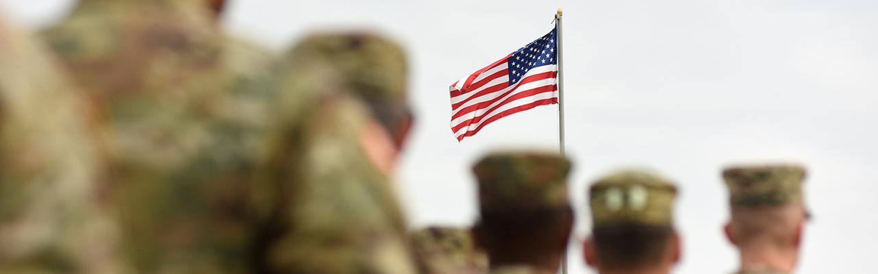 Military Status Banner
